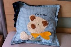 Kissen-Bär-Alexander